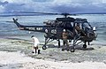 Galatea's personal arrive by helicopter (37651610341).jpg
