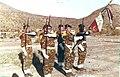 Garde du drapeau du 6e R.A.Ma djibouti 1979.jpg