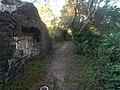 Gardens of Kassiopi Castle (wider view).JPG