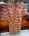 Garment with peony design in bingata stencil dyeing, 1 of 2, Okinawa Main Island, Second Sho dynasty, Ryukyu kingdom, 1800s AD, cotton - Tokyo National Museum - Tokyo, Japan - DSC09141.jpg