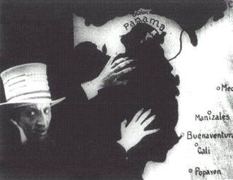 Cinema of Colombia - Photogram of the film: Garras de oro (1926)