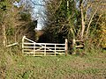 Gate at end of Chalky Road - geograph.org.uk - 1596409.jpg