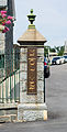 Gatepost - Mt Olivet - Washington DC - 2014.jpg
