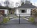 Gates at Knock-na-moe Bungalows - geograph.org.uk - 155546.jpg