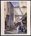 Gatubild från Konstantinopel. Fritz von Dardel, 1886 - Nordiska Museet - NMA.0043696.jpg