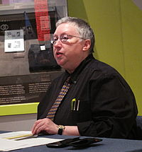 Gayle Rubin speaking at the LGBT History Museum in San Francisco, June 7, 2012.
