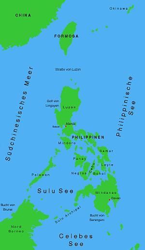 Gebiet der Philippinen