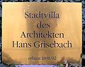 Gedenktafel Fasanenstr 25 (Charl) Hans Grisebach.JPG