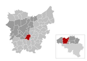 Oosterzele - Image: Gem Oosterzele Location