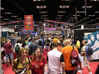 Gen Con - The Gen Con Indy 2003 exhibit hall