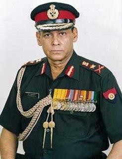 Sundararajan Padmanabhan Indian Army general