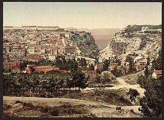 Constantine (Algeria) - General view, Constantine, 1899