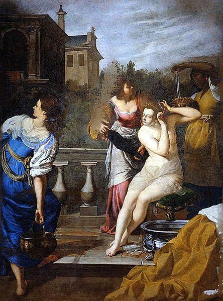 Betsabea al bagno