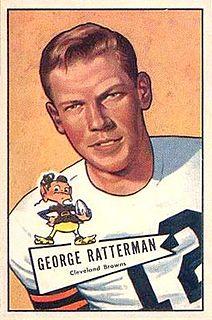 George Ratterman American football player