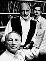George Balanchine and Jerome Robbins and John Clifford.jpg