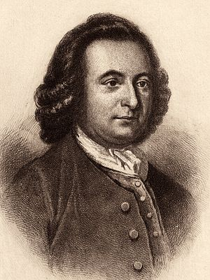 English: Print of George Mason of Virginia bas...