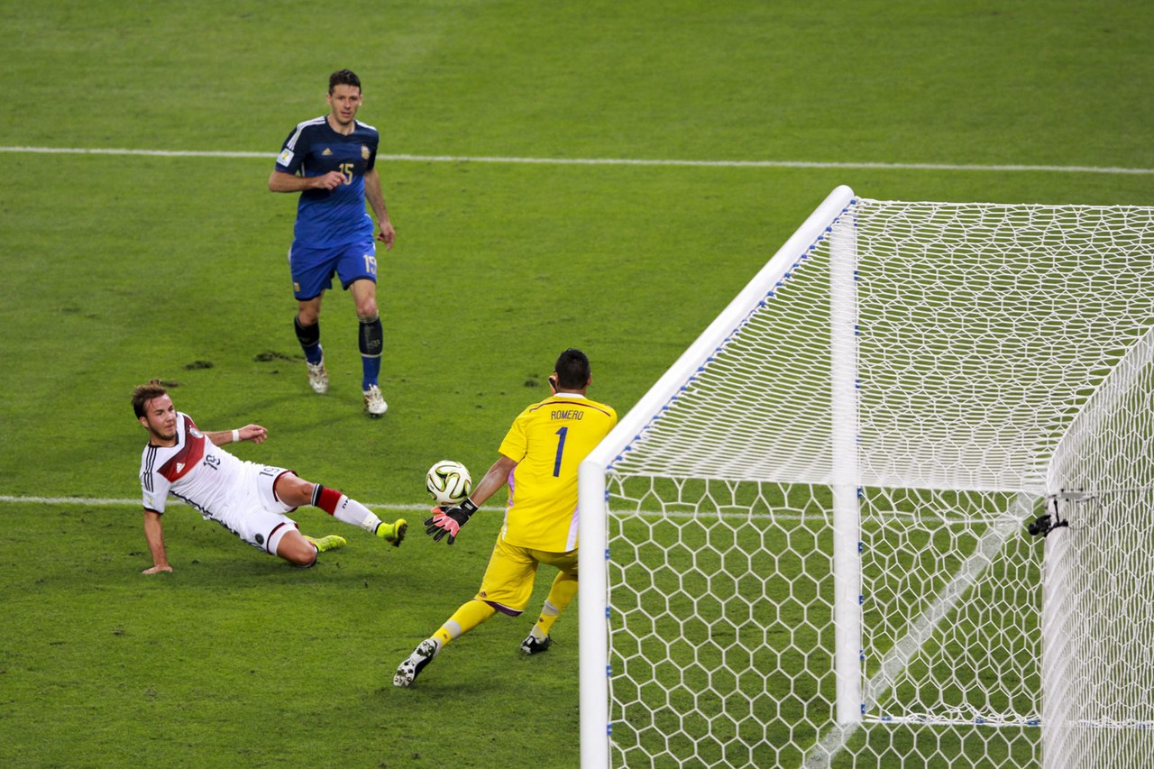 Germany and Argentina face off in the final of the World Cup 2014 -2014-07-13 (45).jpg