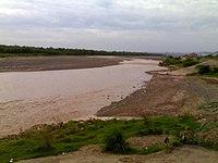 Ghaggar river in Panchkula.jpg