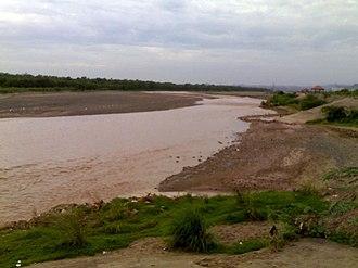 Ghaggar-Hakra River - Ghaggar river in Panchkula