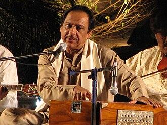 Ghulam Ali (singer) - Ghulam Ali in Hyderabad, 2007