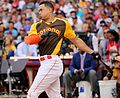 Giancarlo Stanton competes in semis of '16 T-Mobile -HRDerby. (28468364882).jpg