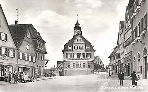 Giengen - The Marktplatz