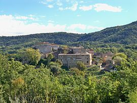The village of Gignac