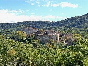 Gignac, Vaucluse - The village of Gignac