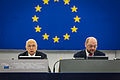 Giorgio Napolitano visite officielle Parlement européen de Strasbourg 4 février 2014 06.jpg