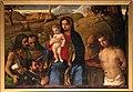 Giovanni bellini, madonna tra i ss. g. battista, francesco, girolamo, sebastiano e un committente, 1507, 01.jpg