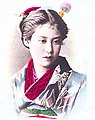 Girl of Japan in the 1880s, from- Officer's daughter (cropped).jpg