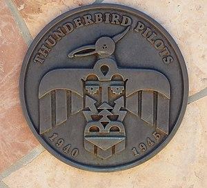 Thunderbird Field No. 1 - Thunderbird Pilots Memorial Marker