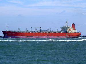 Global Spirit p2 leaving Port of Rotterdam, Holland 20-Jun-2007.jpg