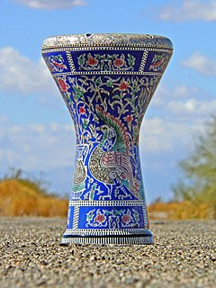 Goblet drum specific type of generic goblet drum