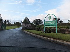 Golf course entrance - geograph.org.uk - 2662727.jpg