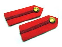 A colonel's gorget patches. Gorget Col Brig British Service Dress.jpg
