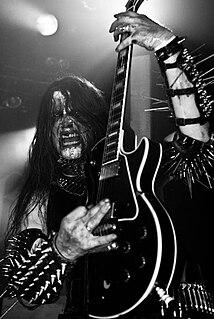 Infernus Norwegian black metal musician