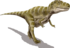 Gorgosaurus BW transparent.png