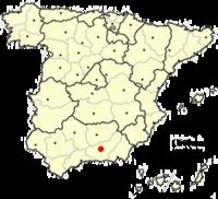 Situación de Granada