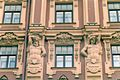 Grand Hotel Europe - St. Petersburg, Facade with Atlases, July 2007.JPG