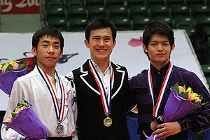 2010–11 Grand Prix of Figure Skating Final - The men's medalists