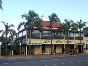 Grand View Hotel - Grand View Hotel and North Street, 2015