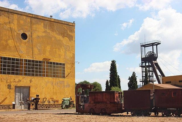 Grande miniera di Serbariu, Sulcis - Author Aless93