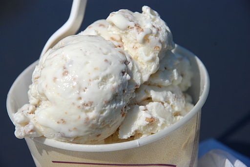 Grape-nut ice cream