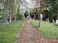 Graveyard at Lumphanan Church - geograph.org.uk - 412511.jpg