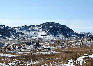 Great Crag mountain in United Kingdom