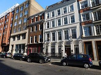 Royal Philharmonic Society - Society headquarters on Great Marlborough Street