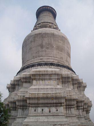 Great White Pagoda - Sarira Stupa of Tayuan Temple