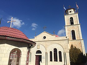 Greek Orthodox monastery in Shepherds Field. Beit Sahour 2.jpg