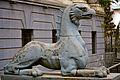 Griffin statue in Tbilisi.jpg